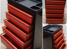 Количка за инструменти с 5 чекмеджета, 45х60х90 см
