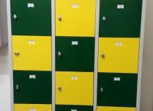 Метален шкаф с 15 отделения модел TS15, 160х95х42,5 см