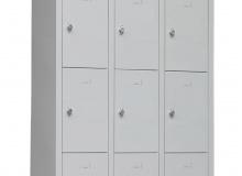 Метален гардероб с 12 отделения - 200х97х37 см, модел TS12