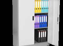 Метален шкаф  CR-1234 J LUX - 130x90x40 см