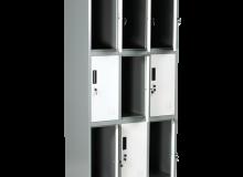 Метален шкаф Carmen CR-1244 J LUX 185х90х45см