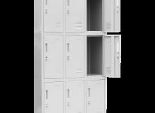 Метален шкаф  CR-1274 J 162х82.6х45см