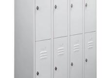 Метален гардероб с 8 отделения - 37x129x200cm, модел ТВ08